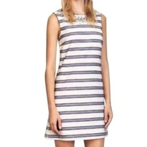 Tory Burch Kaylin Striped Cotton blend dress!